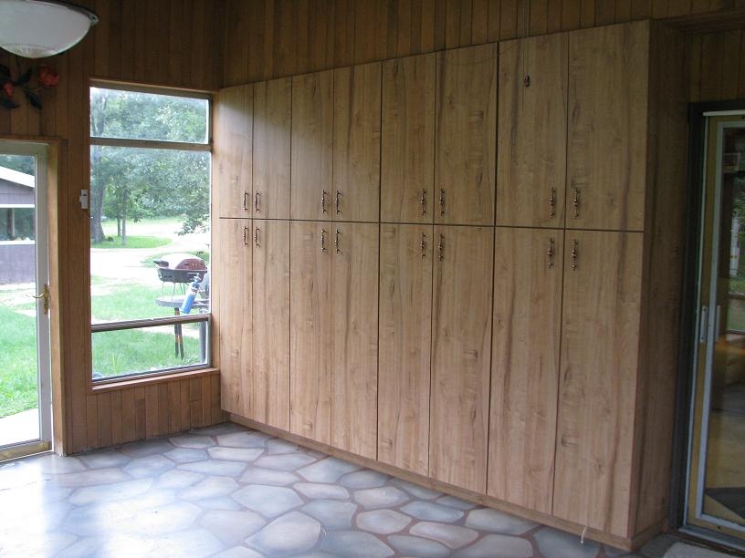 Built In Storage Cabinets